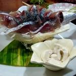 酒菜屋たぬき - 首折れ鯖(白子付)
