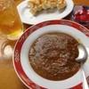 正龍 - 料理写真:激辛ハバネロカレー、餃子、ウーロンハイ