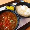カツなり家 - 料理写真:具だくさんゴロゴロ豚汁定食(350円)