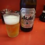雲龍亭 - 瓶ビール♪