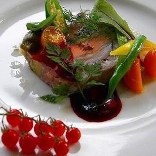 キュイエット - 料理写真:ワイン豚とフォアグラのテリーヌ