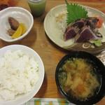 55272500 - 塩タタキ定食(1,450円)
