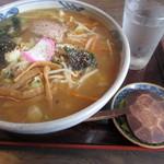 みちのく山長 - 料理写真:みそラーメン750円。