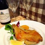 porcocoda ff dining - 鶏モモ肉のコンフィ