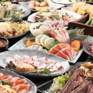 豊富なコース料理、贅沢な食べ放題プラン!