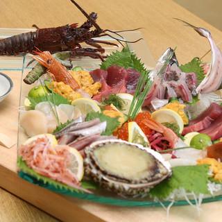 地魚はじめ海鮮各種