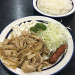 キッチン タイガー - 生姜焼き定食