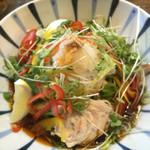 麺鮮醤油房 周月 - 冷麺