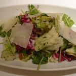 55275394 - 季節野菜とハーブのサラダ