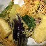 茶店 まつや - 充実の天ぷら