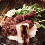 和食  十喜 - 黒毛和牛リブロース串焼丼(ランチ)