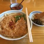 久留米荘 - 久しぶりに久留米荘のうどん、いただきます。
