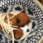 蕎膳 楽 - 【2016.8.22】マグロの小鉢。