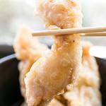 築港麺工房 - 鶏天ぶっかけうどん三