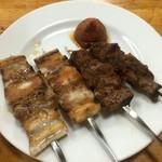 喜多八 - 豚バラ串・スタミナ焼き
