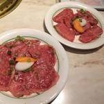 焼肉 鶯谷園 - 特上の肉たち1