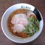 麺屋theさとう - しお(大盛):750円(税込)【2016年8月撮影】