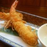 旬の魚菜 きり山 - 天使の海老の海老フライ