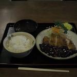 みそかつ 名古屋港 とん海 - チキンかつ定食