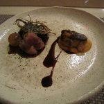 オリカサ - 京鴨とフォアグラのソテー