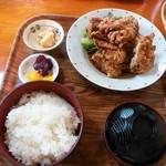 55291073 - ザンタレハーフ(600円)の定食(350円)