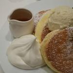 幸せのパンケーキ - ホイップクリーム