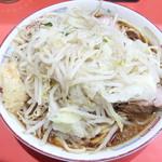 ラーメン二郎 - ラーメン+野菜ニンニク