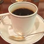 コーヒーバー ブルーマウンテン - 食後に高級コーヒーを…至高のブルーマウンテン、ちょっと酸味がしつこいタイプだったが、格式あるお店で重厚感のある雰囲気。@横浜市西区 ブルーマウンテン