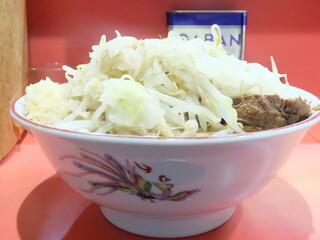 ラーメン二郎 仙川店 - ラーメン+野菜ニンニク