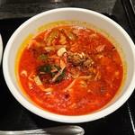 Gyouzanoantei - 青担々麺(ハーフ)