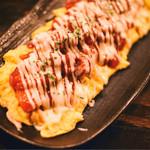 ひまわり - トマトとん平焼き