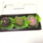 ふく福団子 - 水餅3種