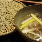 手打ちそば 仲むら - 料理写真:イベリコ豚の蕎麦
