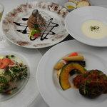 yebisu gogo cafe - ディナーコースは記念日やご会食に!