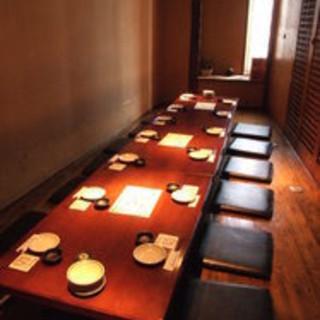 宴会個室は2名様~最大130名個室まで多数ご用意!