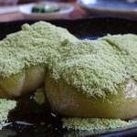 小林糀屋 - 料理写真:青肌豆の安倍川餅(291円)