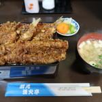 天ぷら漁火亭 - 地魚天重(¥1,200-)