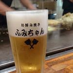 ふみちゃん - 2016/8 生ビール \540