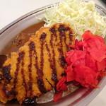 カレーのチャンピオン - 料理写真:Lカツカレー(通常790円→ランチタイムは690円)