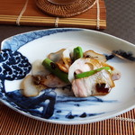 Chimatsushima - 鯨、新アスパラ、れんこん♪