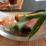 Chimatsushima - 七夕をイメージした前菜♪