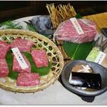 牛仁 - 赤身肉角切り、ひれ肉 100g