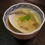 小笹寿し - 蛤のお椀