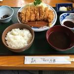 いな穂 - 料理写真:とんかつ定食