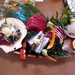 海味 魚がし - 舟盛りが何と980円!!!