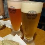 55309514 - ハイビスカスビールとカムカムビール