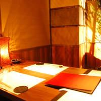 デート向き個室◆デートやご家族向けの少人数タイプの個室です