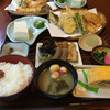 きらく九兵衛 - 料理写真:天ぷら定食 ¥1600