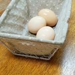 豊川稲荷境内家元屋 - ゆで卵@50円 ご自由に 2016.8