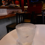 イタリア食堂 Fagotto - 芋焼酎(からり芋)ロック